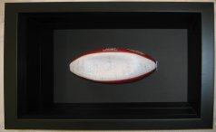 Rugby Ball Shadow Box Frame