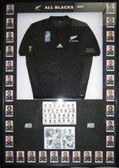 All Blacks Jersey  with player photos