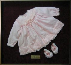 Christening Dress with Booties